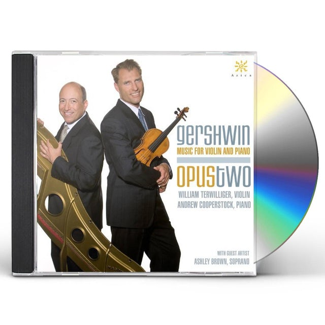 Gershwin MUSIC FOR VIOLIN & PIANO CD