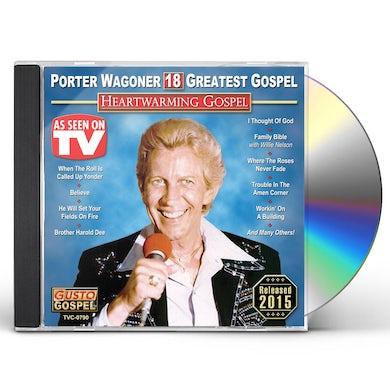 Porter Wagoner HEARTWARMING GOSPEL: 18 GREATEST GOSPEL CD