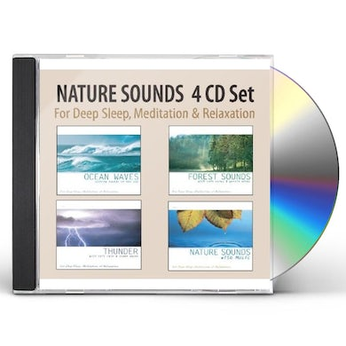 Robbins Island Music Group NATURE SOUNDS 4 ALBUM SET: OCEAN WAVES/FOREST SO CD