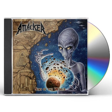 Attacker SINS OF THE WORLD CD