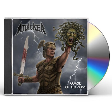 Attacker ARMOR OF THE GODS CD
