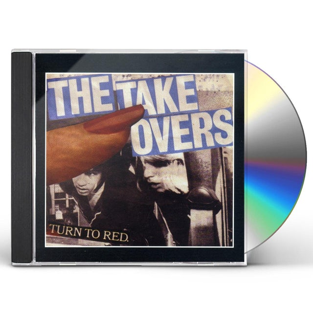 Takeovers TURN TO RED CD