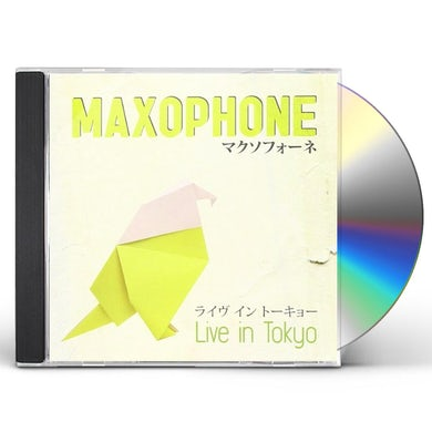 Maxophone LIVE IN TOKYO CD