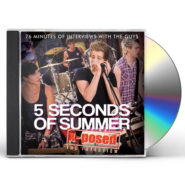 5 Seconds Of Summer X-POSED CD