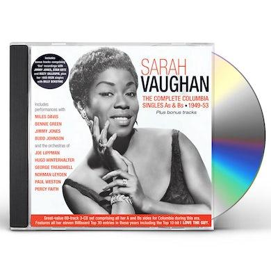 Sarah Vaughan Complete Columbia Singles As & Bs 1949-53 CD