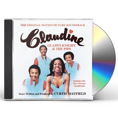 Gladys Knight & The Pips CLAUDINE / PIPE DREAMS CD