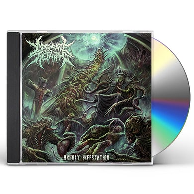 Desecrate the Faith UNHOLY INFESTATION CD