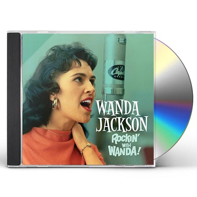 Wanda Jackson ROCKIN WITH WANDA / THERE'S A PARTY GOING ON + 6 CD