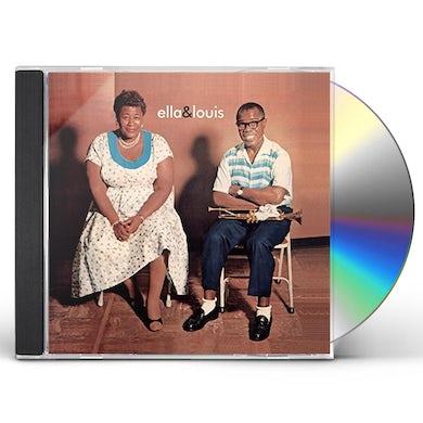 Ella Fitzgerald ELLA & LOUIS + 8 BONUS TRACKS CD
