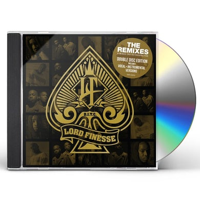Lord Finesse REMIXES: A MIDAS ERA RETROSPECTIVE CD