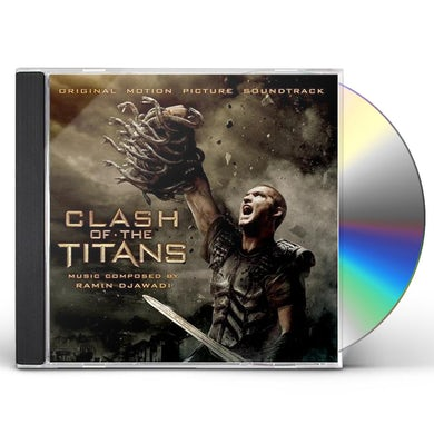 RAMIN DJAWADI CLASH OF THE TITANS - Original Soundtrack CD
