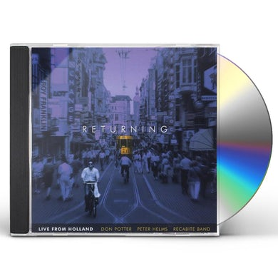 DON POTTER RETURNING (LIVE FROM HOLLAND) CD
