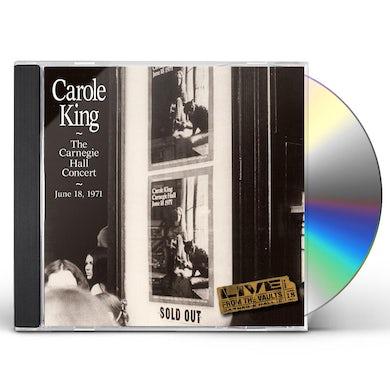 Carole King CARNEGIE HALL CONCERT - JUNE 18 1971 CD