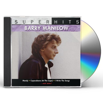 Barry Manilow SUPER HITS CD