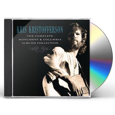 Kris Kristofferson COMPLETE MONUMENT & COLUMBIA ALBUM COLLECTION CD