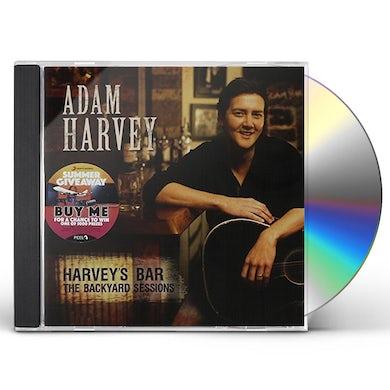 Adam Harvey HARVEY'S BAR: BACKYARD SESSIONS CD