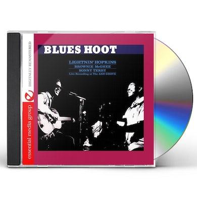 Lightnin Hopkins BLUES HOOT CD