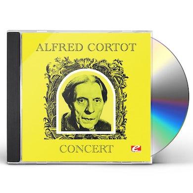 ALFRED CORTOT CONCERT CD
