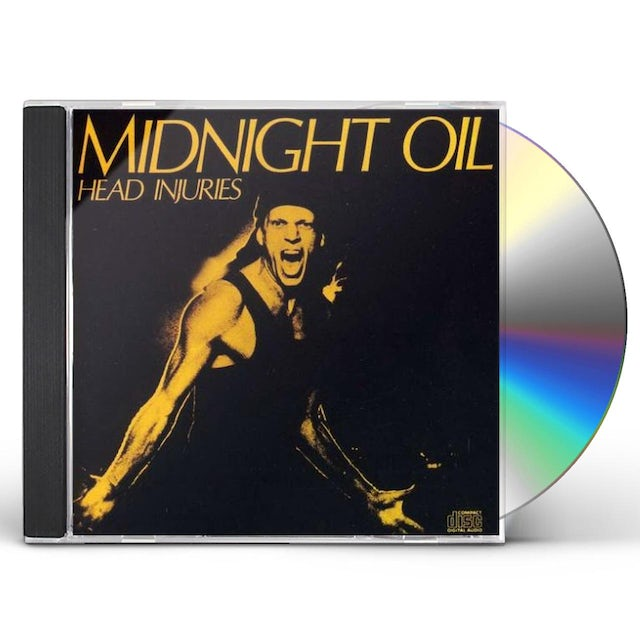 Midnight Oil HEAD INJURIES (REMASTERED) CD