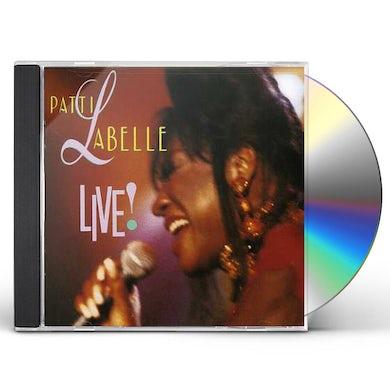 PATTI LABELLE LIVE! CD