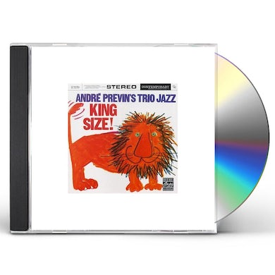 Andre Previn TRIO JAZZ: KING SIZE CD