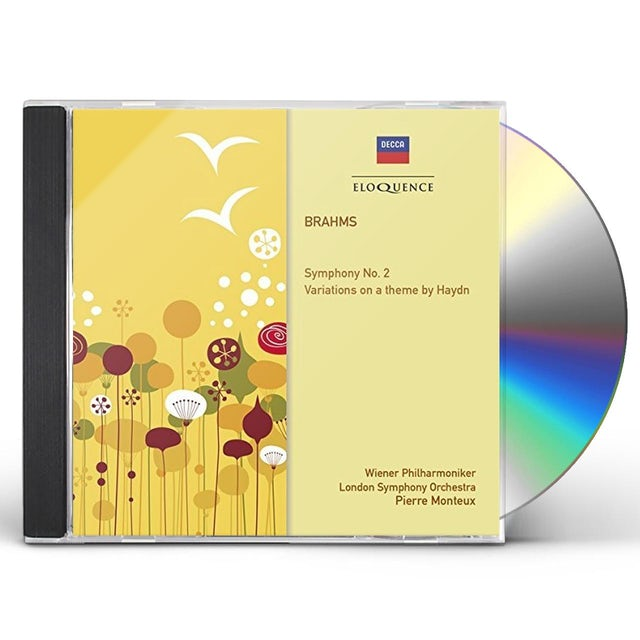 Pierre Monteux BRAHMS: SYM 2 VARIATIONS ON A THEME BY HAYDN CD