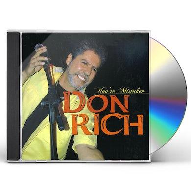 Don Rich YOU'RE MISTAKEN CD