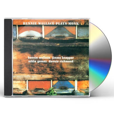 Bennie Wallace PLAYS MONK CD