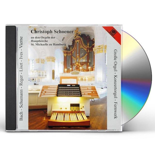 J.S. Bach CHRISTOPHER SCHOENER PLAYS BACH SCHUMANN REGER CD