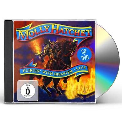 Molly Hatchet FLIRTIN WITH DISASTER LIVE CD