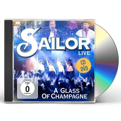 Sailor LIVE A GLASS OF CHAMPAGNE CD
