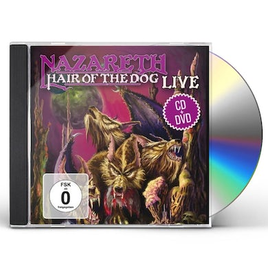 Nazareth HAIR OF THE DOG LIVE CD