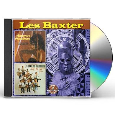 PRIMITIVE & PASSIONATE / LES BAXTER BALLADEERS CD