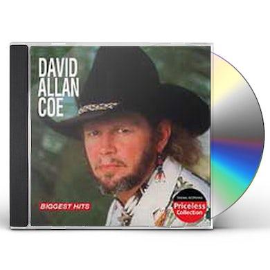 David Allan Coe BIGGEST HITS CD