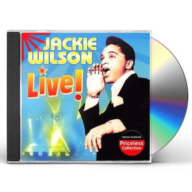 JACKIE WILSON LIVE CD