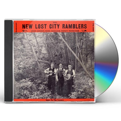 NEW NEW LOST CITY RAMBLERS: GONE TO THE COUNTRY CD