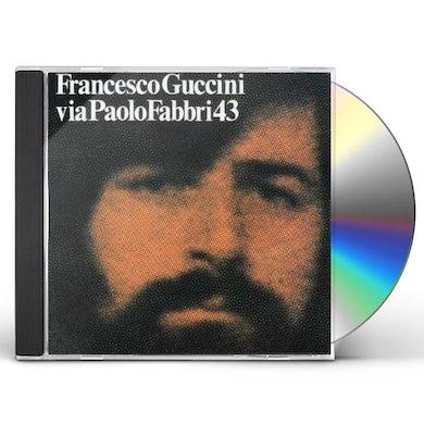 Francesco Guccini VIA PAOLO FABBRI 43 CD
