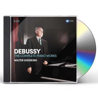 Walter Gieseking DEBUSSY: THE COMPLETE PIANO WORKS CD
