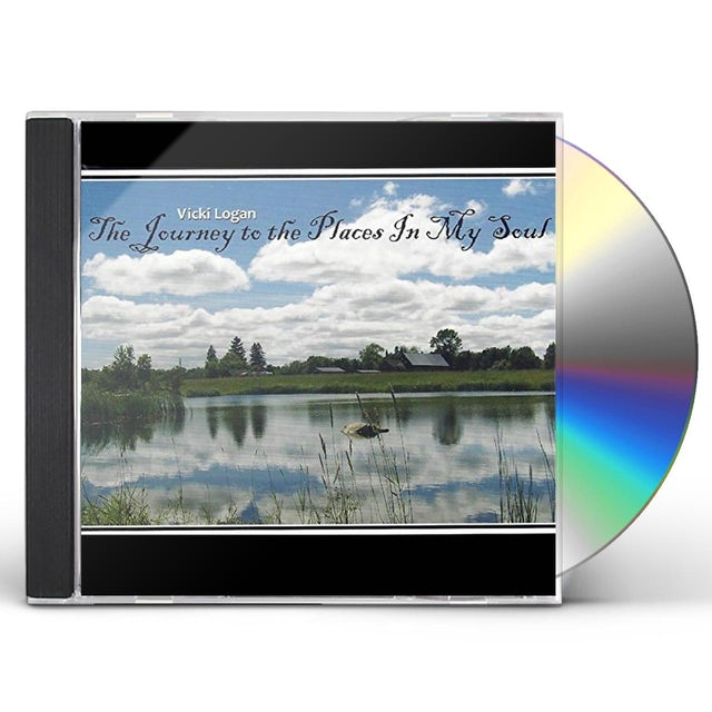 Vicki Logan JOURNEY TO THE PLACES IN MY SOUL CD
