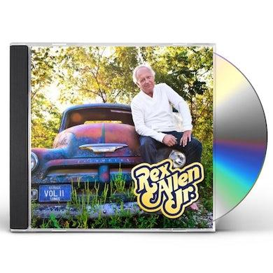 Rex Allen Jr. GARAGE SONGS VOL. II CD