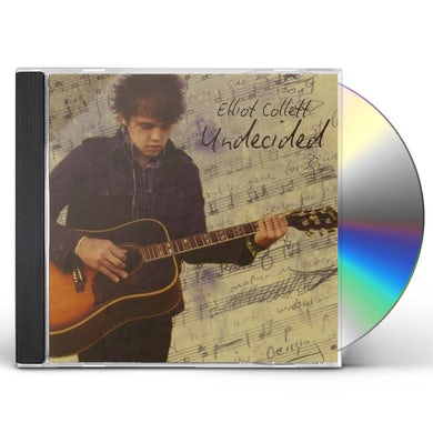 Elliot Collett UNDECIDED CD