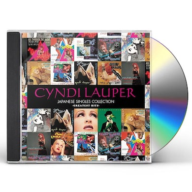Cyndi Lauper JAPANESE SINGLES COLLECTION CD