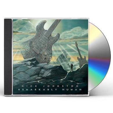 Nick Johnston REMARKABLY HUMAN CD