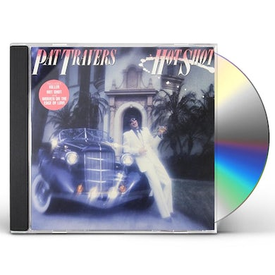 Pat Travers HOT SHOT CD