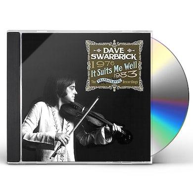 Dave Swarbrick IT SUITS ME WELL: TRANSATLANTIC RECORDINGS 76-83 CD