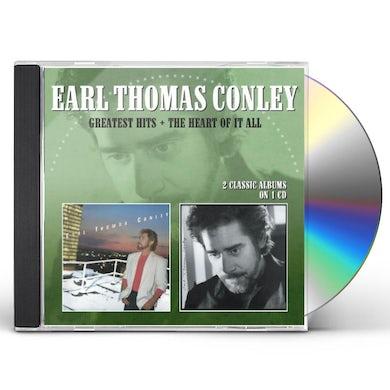 Earl Thomas Conley GREATEST HITS / HEART OF IT ALL CD