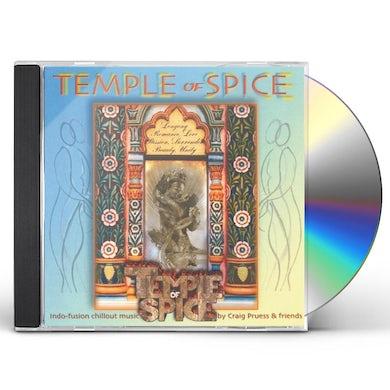 Craig Pruess TEMPLE OF SPICE CD
