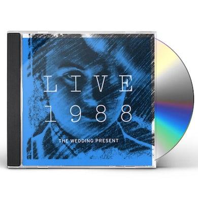The Wedding Present LIVE 1988 CD