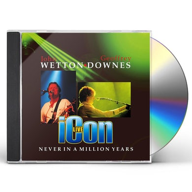 Icon NEVER IN A MILLION YEARS CD