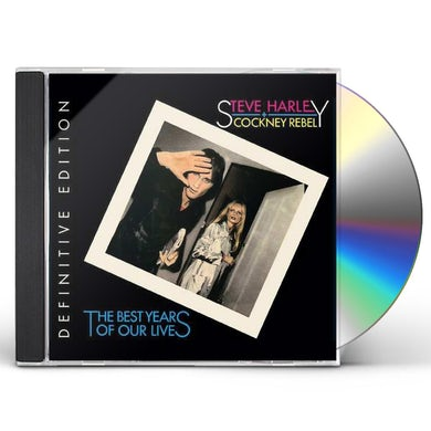 Steve Harley & Cockney Rebel BEST YEARS OF OUR LIVES (DEFINITIVE EDITION) CD
